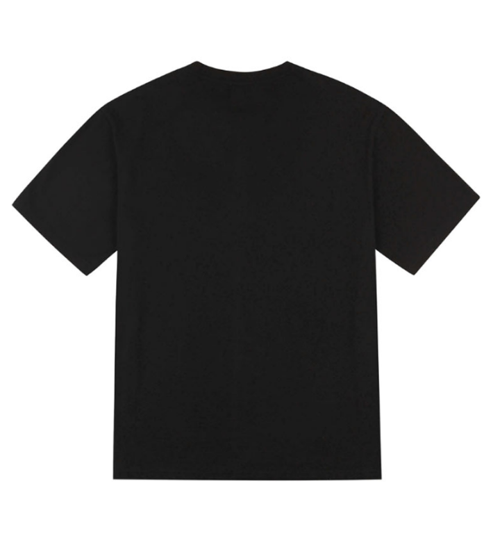 サーティーンマンス(13MONTH) LETTERING HALF SLEEVE T-SHIRT (BLACK)