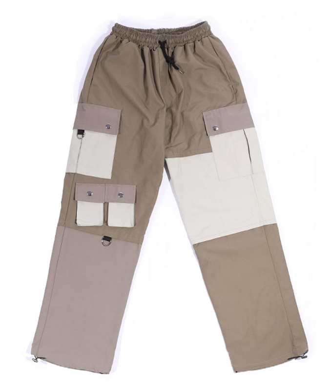 オウェンド(A-WENDE) Poly Mix pants (Tan)