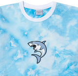 アクメドラビ(acme' de la vie) ADLV SHARK SHORT SLEEVE T-SHIRT SKY BLUE