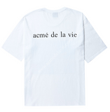 アクメドラビ(acme' de la vie) ADLV BABY FACE SHORT SLEEVE T-SHIRT WHITE JELLY