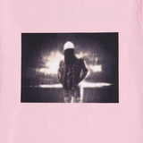 アクメドラビ(acme' de la vie) ADLV SHORT SLEEVE T-SHIRT DARK RAIN LIGHT PINK