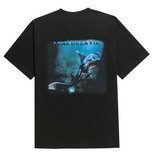 アクメドラビ(acme' de la vie) ADLV DIGITAL PRINTING SHORT SLEEVE T-SHIRT MANTA RAY ONE BLACK
