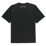 アクメドラビ(acme' de la vie) ADLV REFLECTIVE SHORT SLEEVE BLACK
