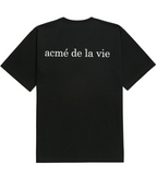アクメドラビ(acme' de la vie) ADLV BABY FACE SHORT SLEEVE T-SHIRT BLACK BOXING