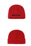 ベーシックコットン(BASIC COTTON) Basic Beanie (RED)