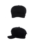 ベーシックコットン(BASIC COTTON) Basic Cap Beret (Black)