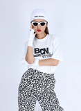 ベーシックコットン(BASIC COTTON) BCN HALF TOP (WHITE)