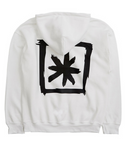 ブラックブロンド(BLACKBLOND) BBD Back Star Hoodie (White)
