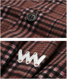 ダブルユーブイプロジェクト(WV PROJECT) DADDYLAY CHECK SHIRT BROWN JJLS7211