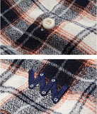 ダブルユーブイプロジェクト(WV PROJECT) TAMI CHECK SHIRT NAVY MJLS7208