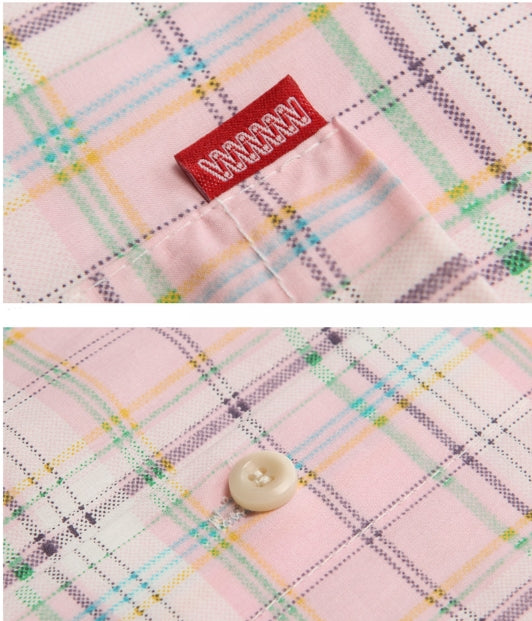 ダブルユーブイプロジェクト(WV PROJECT) CLEVER SLEEVE SHIRT PINK JJSS7159