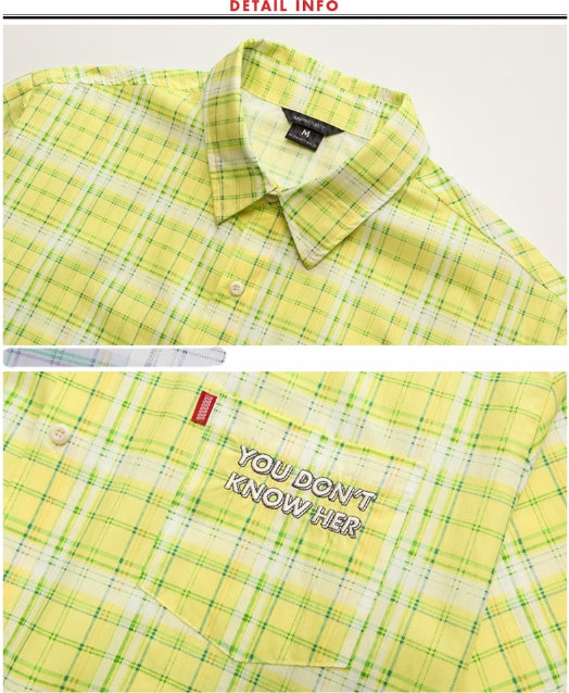 ダブルユーブイプロジェクト(WV PROJECT) CLEVER SLEEVE SHIRT LEMON JJSS7159