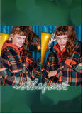 ダブルユーブイプロジェクト(WV PROJECT) ISNEY CHECK SHIRT GREEN MJLS7193