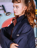 ダブルユーブイプロジェクト(WV PROJECT) ALIE REVERSIBLE JACKET NAVY MJJK7198