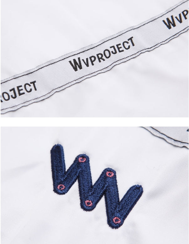 ダブルユーブイプロジェクト(WV PROJECT) SWED COACH JACKET WHITE YRJK7202