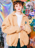 ダブルユーブイプロジェクト(WV PROJECT) REFLAT WOOL COACH JACKET BEIGE MJJK7114