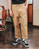 ダブルユーブイプロジェクト(WV PROJECT) COMNIER COTTON PANTS BEIGE SYLP7165