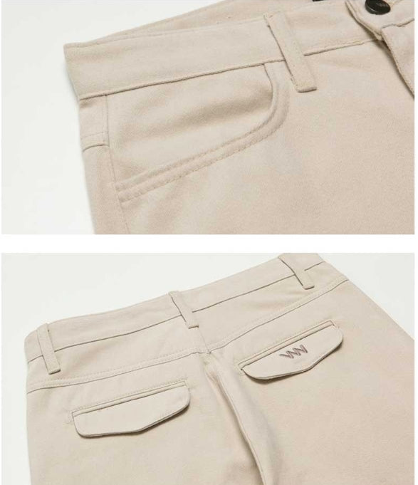 ダブルユーブイプロジェクト(WV PROJECT) COCO WIDE COTTON PANTS CREAM MJLP7184