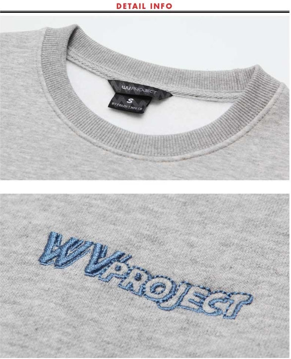 ダブルユーブイプロジェクト(WV PROJECT) MINERY SWEATSHIRT GRAY MJMT7192
