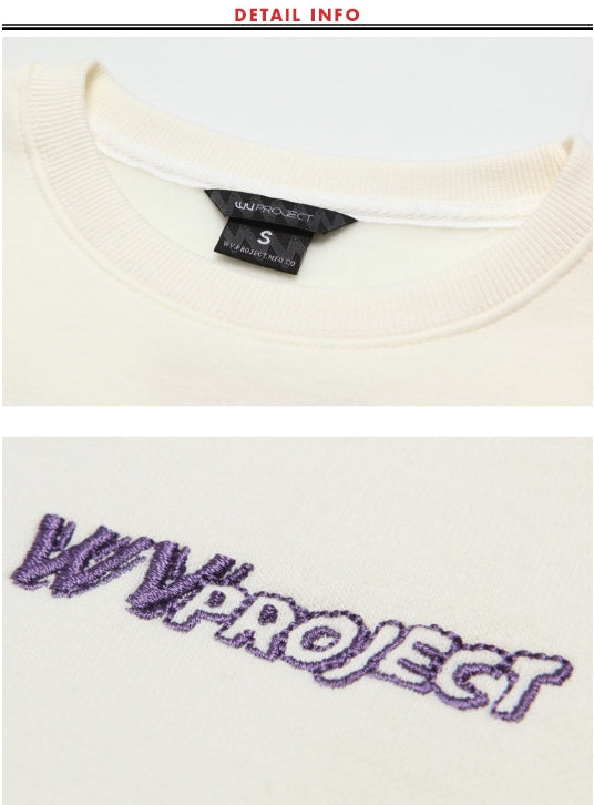ダブルユーブイプロジェクト(WV PROJECT) MINERY SWEATSHIRT CREAM MJMT7192