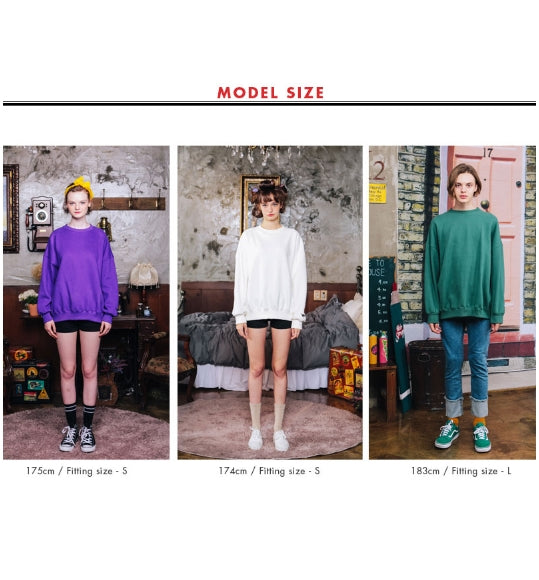 ダブルユーブイプロジェクト(WV PROJECT) BLOOMING SWEATSHIRT VIOLET JJMT7204