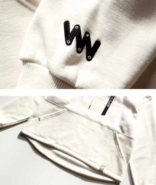 ダブルユーブイプロジェクト(WV PROJECT) WEBBING DIA HOOD CREAM JJHD7130