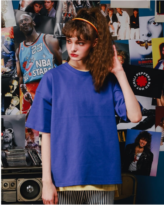 ダブルユーブイプロジェクト(WV PROJECT) BLEEZE SHORT T-SHIRTS JJST7166 (COBALT)