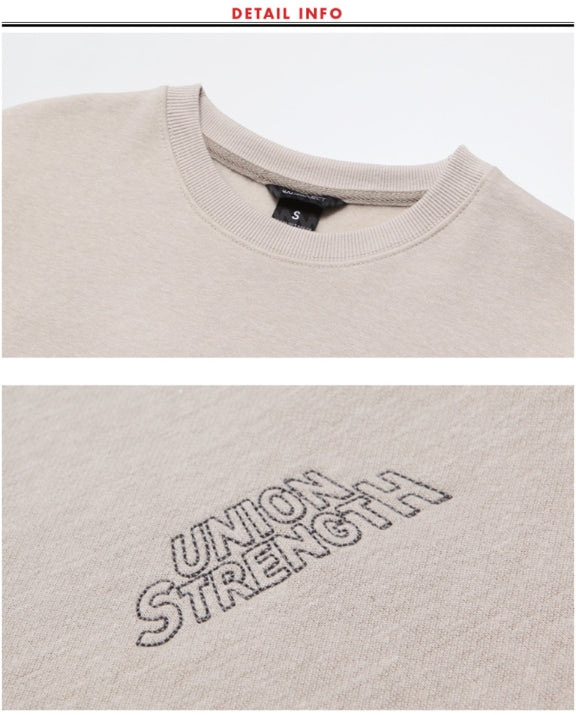 ダブルユーブイプロジェクト(WV PROJECT) UNION STAR SWEATSHIRTS GRAY MJMT7224