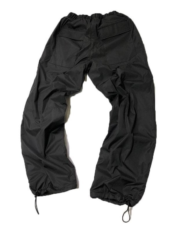 トレンディウビ(Trendywoobi) Strap Windruner Pants (BLACK)