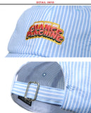 ダブルユーブイプロジェクト(WV PROJECT) Pick-up Stripe Ballcap Blue SYAC7262