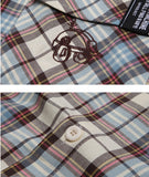 ダブルユーブイプロジェクト(WV PROJECT) SHURE CHECK SHIRTS BLUE YRSS7253