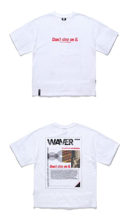 ティーダヴリューエヌ(TWN) WAVER SHORT SLEEVES 4COLORS JEST3176 (BLACK,WHITE,RED,BLUE)