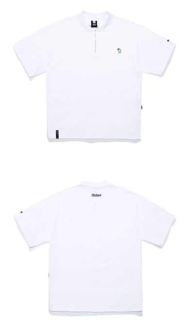 ティーダヴリューエヌ(TWN) COOL TREE COLLAR SHORT SLEEVE STST3195