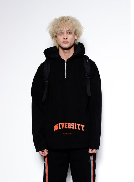 ステレオバイナルズ(Stereo Vinyls) [SS17 Colour] Colour Zip Backpack(Black)