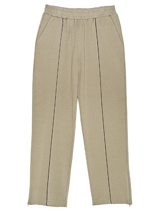 ステレオバイナルズ(Stereo Vinyls) [SS17 Colour] Ponte Pants(Beige)