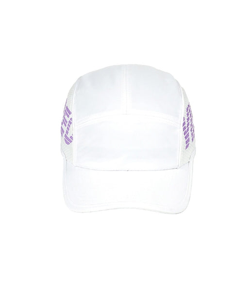 ステレオバイナルズ(Stereo Vinyls) [SS18 ISA] Mesh Panel Camp Cap(White)
