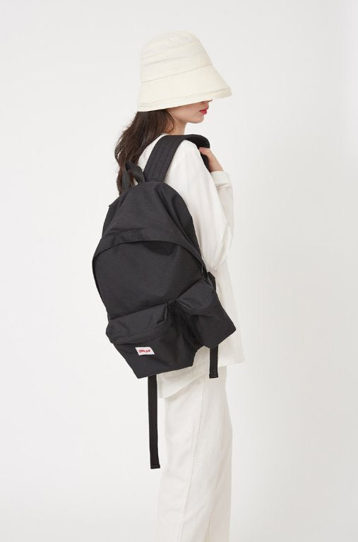 スクラップ(SKRAP) SAFE two pocket backpack Black