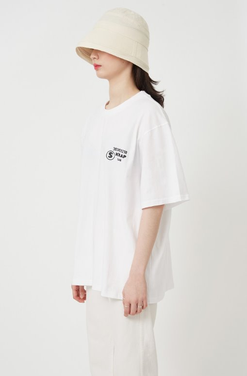 スクラップ(SKRAP) STAFF T-shirt White