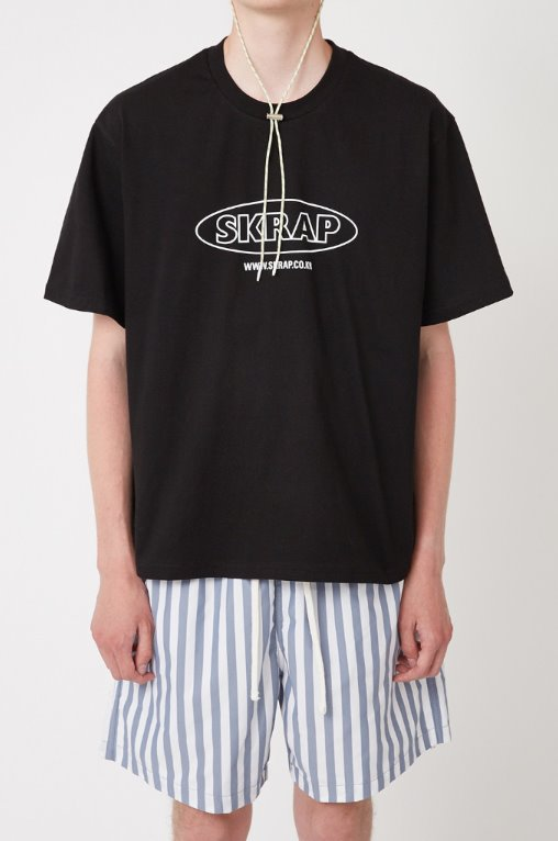 スクラップ(SKRAP) SURF T-shirt Black