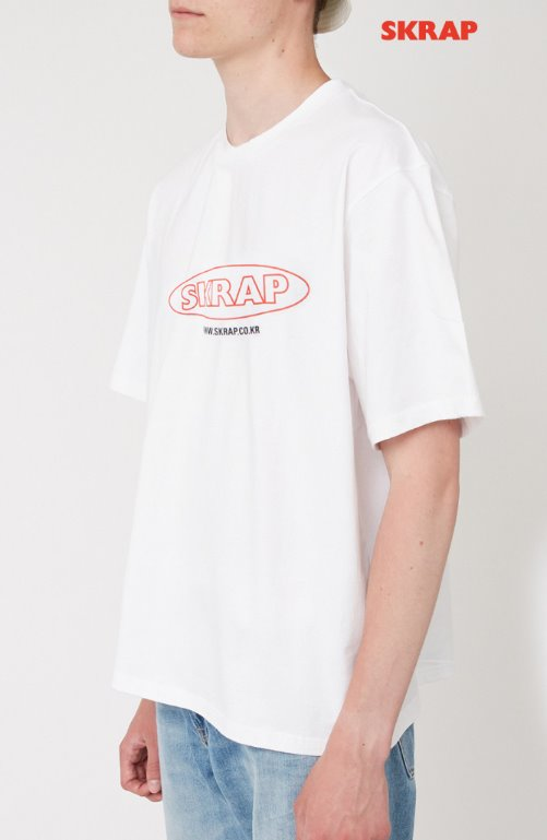 スクラップ(SKRAP) SURF T-shirt White
