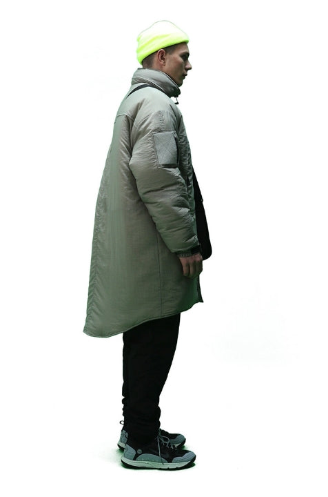 ステレオバイナルズ(Stereo Vinyls) [FW18 SCS] Stereo 3M Thinsulate™ Parka(Grey)