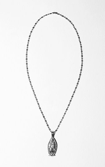 セイントペイン(SAINTPAIN) SP OUR LADY NECKLACE-SILVER