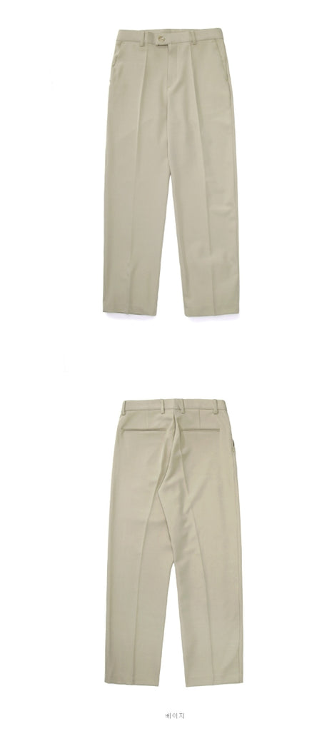 パーステップ(PERSTEP) One Button Semi wide Slacks 3種 BJLP4322