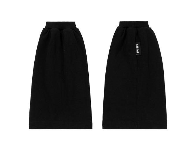 ベーシックコットン(BASIC COTTON) BC Leg warmer (Black)
