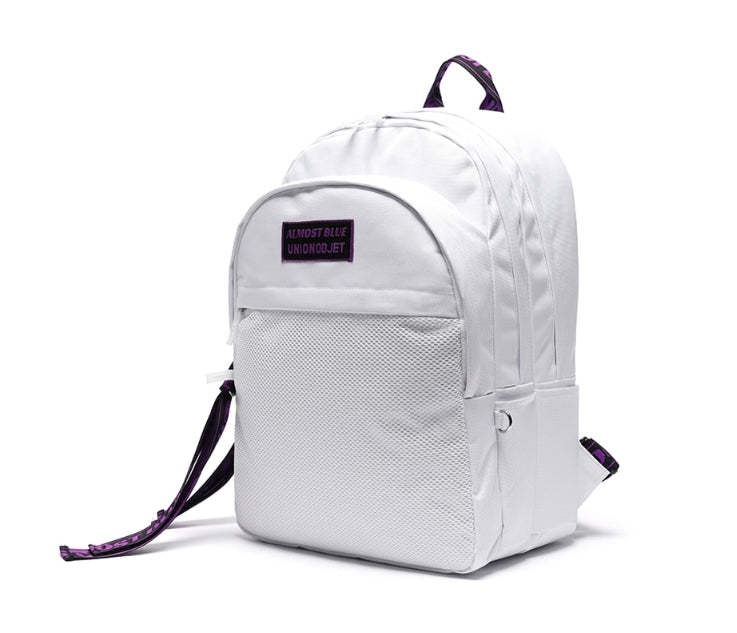 オルモストブルー(Almost Blue)  ALMOST BLUE X UNION OBJET ULTRA VIOLET BACKPACK - WHITE