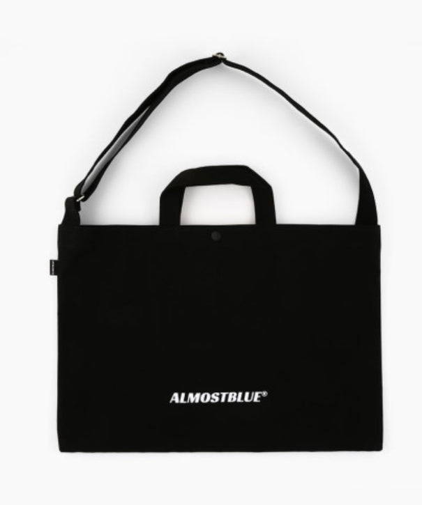 オルモストブルー(Almost Blue) ALMOSTBLUE LOGO 2WAY CROSS BAG