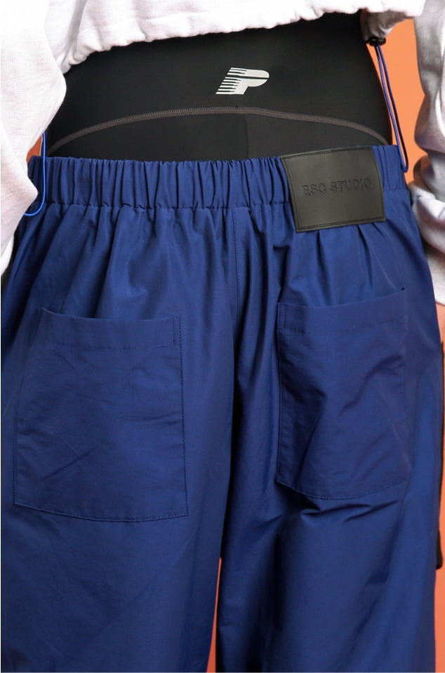 イーエスシースタジオ(ESC STUDIO) Snap training pants(blue)