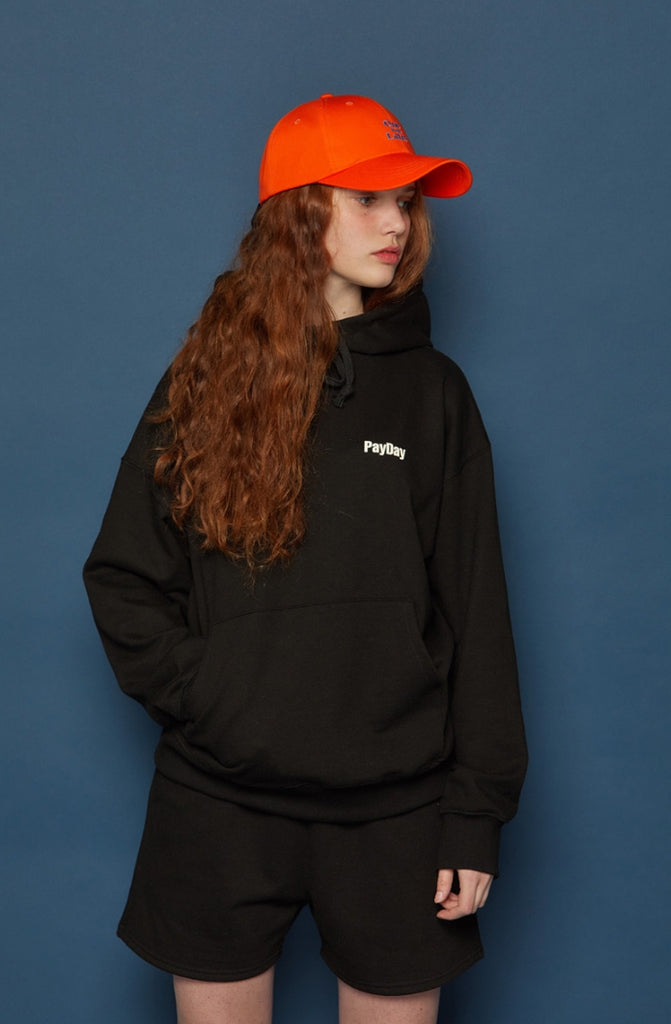 スローアシッド(SLOW ACID) Back Logo Hoodie (BLACK)