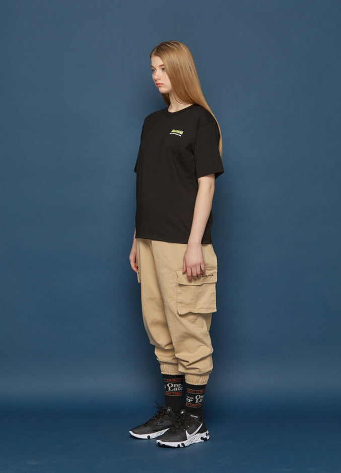 スローアシッド(SLOW ACID) Neon Calendar Short-T (BLACK)