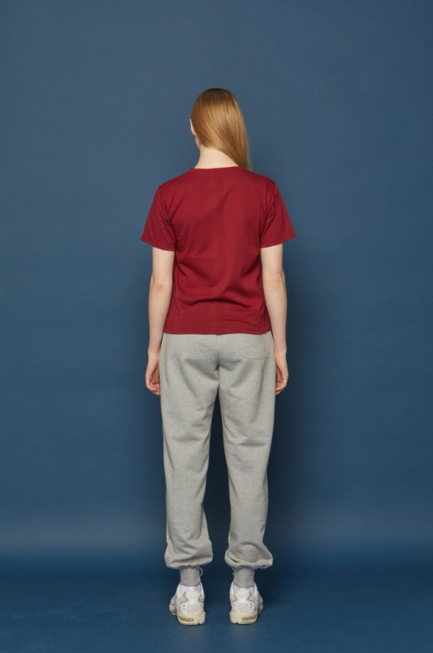 スローアシッド(SLOW ACID)OWL WMNS Short-T (BURGUNDY)